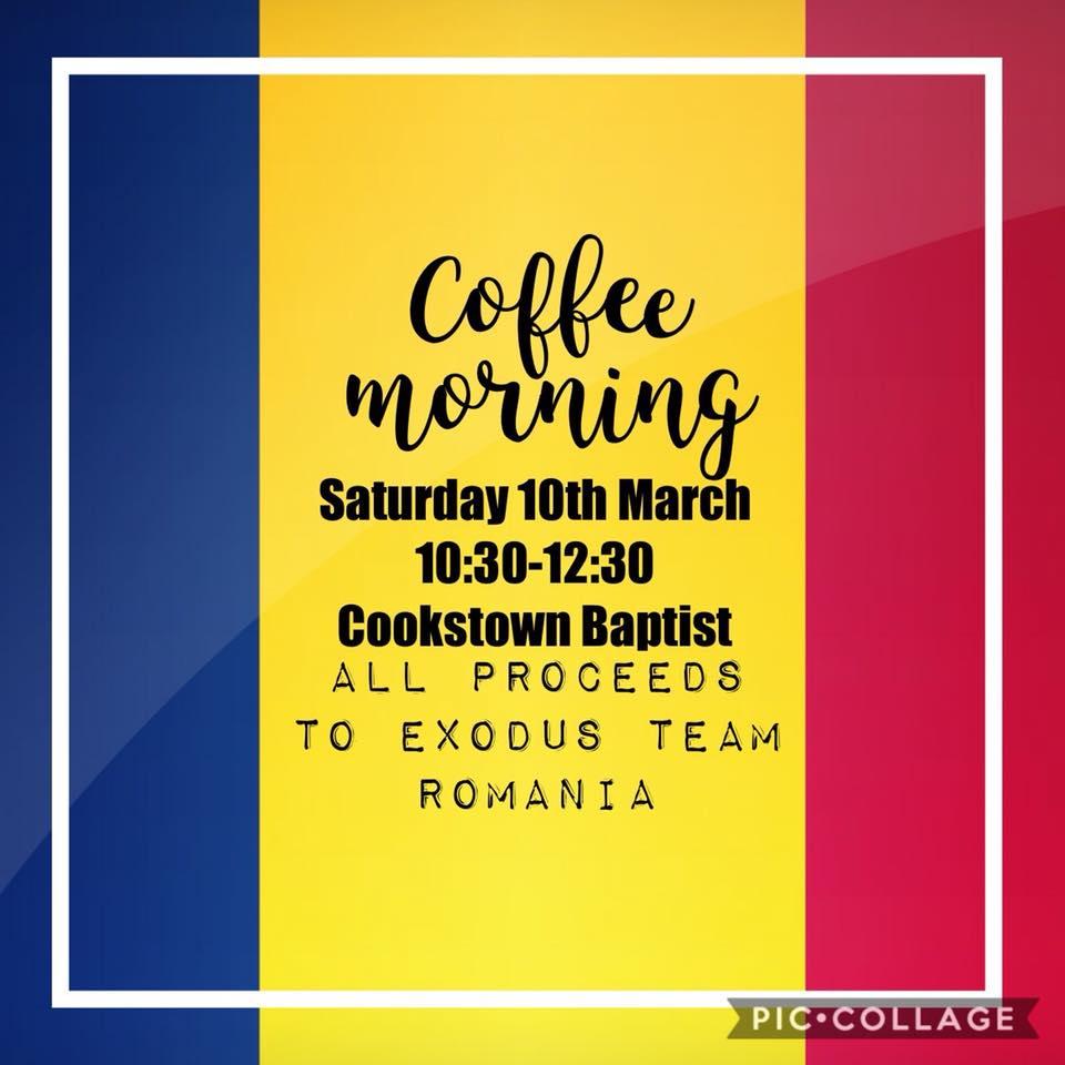 Coffee Morning – Team Romania